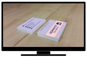Visitenkarten-Gestaltung
